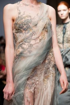 game-of-style:  House Manderly - Yiqing Yin Haute Couture fall 2013