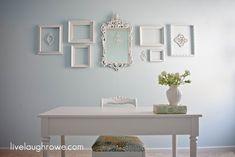 Shabby Chic Room Makeover with LiveLaughRowe.com #decor #diy #shabbychic