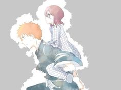 Find images and videos about bleach, Ichigo and rukia on We Heart It - the app to get lost in what you love. Bleach Ichigo And Rukia, Anime Bleach, Kuchiki Rukia, Bleach Fanart, Otp, Clorox Bleach, Bleach Couples, Narusaku, This Is Love