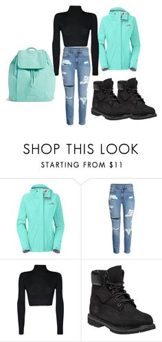 """""""u sleep if you think i aint got gear"""" by kyelea-1 ❤ liked on Polyvore featuring The North Face, WearAll, Timberland, Vera Bradley, women's clothing, women, female, woman, misses and juniors"""