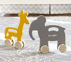 Uncle Goose Language Blocks Manny and Simon Wood Push Toys at Pottery Barn kids Elephant Nursery Girl, Girl Nursery, Themed Nursery, Toy Barn, Push Toys, Nursery Inspiration, Nursery Ideas, Baby Furniture, Wood Toys