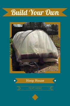 How to Build a Raised Bed with Hoops