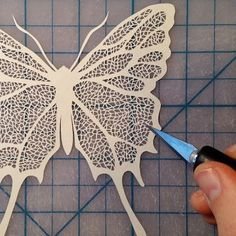 Paper Artworks by Maude White