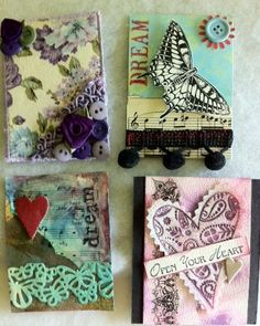 About ATC's (Artist Trading Cards)