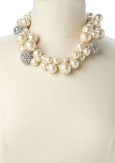 Cluster Pearl Necklace $119.99 GORGEOUS!!!