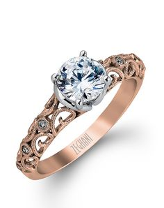 ZR915 by Zeghani // More from Zeghani: http://www.theknot.com/gallery/wedding-rings/Zeghani