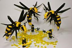 LEGO MOC, bumble bee