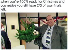When you're ready to head home and decorate the tree, but remember you still have that paper due: | 24 Struggles Only People Who Have Gone Through Finals Week Will Understand