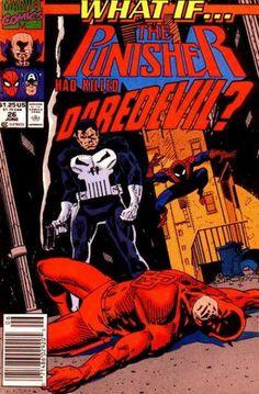 What If? 26 - Punisher - Spiderman - Smoking Gun - Trash Can - Alley