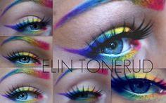 Rainbow Eyeliner/Eyebrow