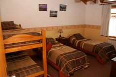 La Posta Hostel and Apart in Ushuaia, Argentina Ushuaia, Hostel, Bunk Beds, South America, Around The Worlds, Travel, Furniture, Home Decor, Argentina