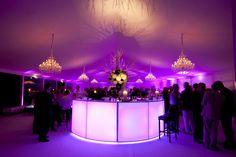 Circular light up bar adds glamour