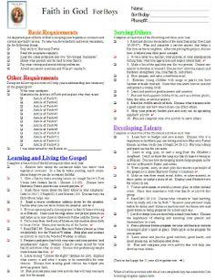 Cub Scout Belt Loop Requirements & Cub Scout Belt Loop