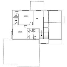 Two Additional Bedrooms with Jack and Jill Bathroom and Loft
