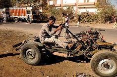 https://flic.kr/p/4y6NfG | LET THE RACE BEGIN | New F1 season begins this weekend..  Good luck to 'Force  India'...  Photo taken in Rajasthan,  India