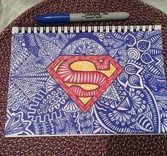 cool Superman art