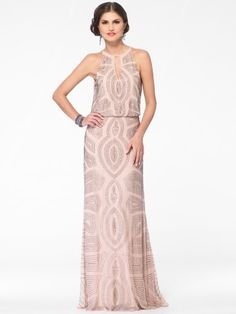 Very cool Art Deco bridesmaid dresses!