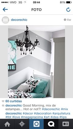 bedroom blue And grey