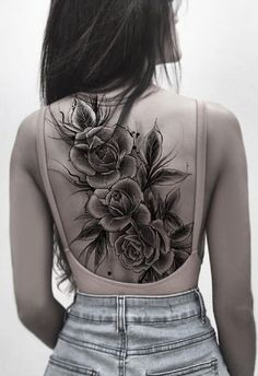 Great ideas for back tattoos for women - Tattoo ideen - Tattoo Designs For Women Dope Tattoos, Badass Tattoos, Body Art Tattoos, Girl Tattoos, Sleeve Tattoos, Cross Tattoos, Tatoos, Tribal Tattoos, Tattoos Masculinas