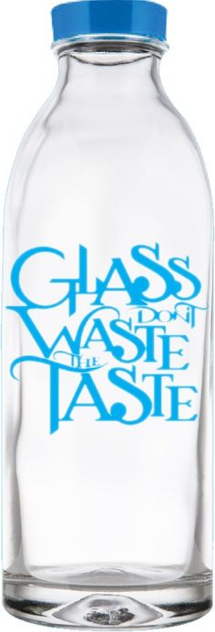 Everything tastes better in glass! Crisp, clean, delicious and refreshing. Each and every time. Besides it's not just the taste, there are plenty of other benefits too! Glass is made from all-natural, sustainable raw materials and can be used endlessly without any loss in quality or purity. So help us spread the word and join us on our mission to eliminate single use plastic bottles!