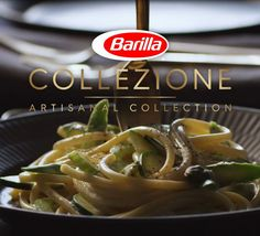 Find your dinner party inspiration right here! Completed with fresh vegetables and notes of roasted garlic, this Collezione Bucatini recipe is the perfect meal for a crowd. #CookingwithCollezione #Barilla