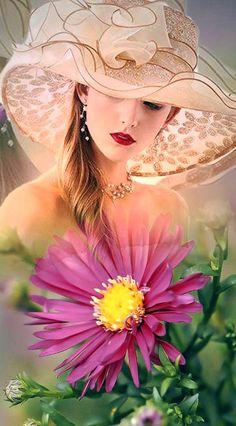 Beautiful Flowers Photos, Romantic Pictures, Flower Photos, Beautiful Images, Romantic Drawing, Wolf Spirit Animal, Beauty In Art, Pink Rose Flower, Beautiful Fantasy Art