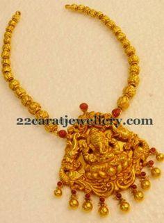 Jewellery Designs: Lakshmi Long Chain by Kothari