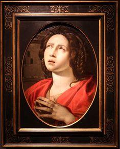 Giovanni Battista Caracciolo, detto Battistello (Napoli, 1578 – Napoli, 1635), Santa Barbara Saint Barbara, Italian Painters, Mona Lisa, Santa, Artwork, Wikimedia Commons, Baroque, Work Of Art, Auguste Rodin Artwork