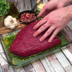 """We've cooked literally half a cow here meat lovers rejoice ! Take a photo of the recipe when you make it at home and show it to us using the hashtag """"eatchefclub""""! Rump Steak Recipes, Meat Recipes, Mexican Food Recipes, Cooking Recipes, Cooking Food, Love Food, A Food, Food And Drink, Tasty Videos"""