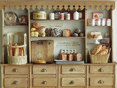 Fun She Shed Conversion Ideas Mini Kitchen, Miniature Kitchen, Miniature Crafts, Miniature Houses, Miniature Food, Miniature Dolls, Kitchen Hutch, Kitchen Small, Miniature Furniture