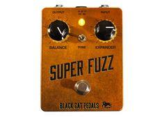 Black Cat Pedals Super Fuzz - Copper - Prymaxe