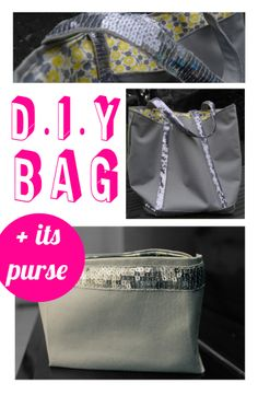 DIY BAG vanessa bruno french creator style! You can add this purse in the exact same style