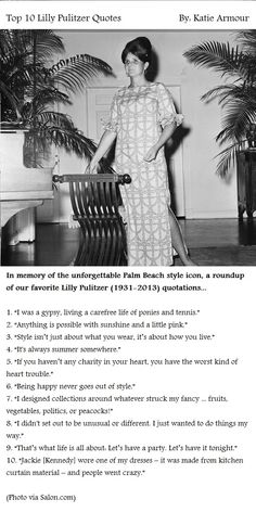 Top 10 Lilly Pulitzer Quotes by Katie Armour