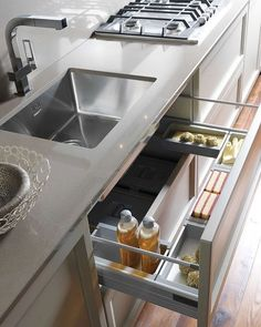 Kitchen Cabinets Organization Ideas You Must Know; Kitchen Cabinets Organization… Kitchen Cabinets Organization Ideas You Must Know; Kitchen Room Design, Kitchen Cabinet Design, Modern Kitchen Design, Home Decor Kitchen, Interior Design Kitchen, Kitchen Furniture, New Kitchen, Home Kitchens, Small Kitchens