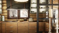 Vintage/ industrial house 2015 is project / visualization by Mario Stoica