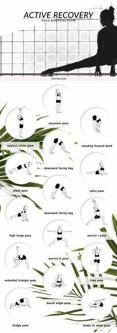Active Recover Yoga Workout | Posted By: NewHowtoLoseBellyFat.com