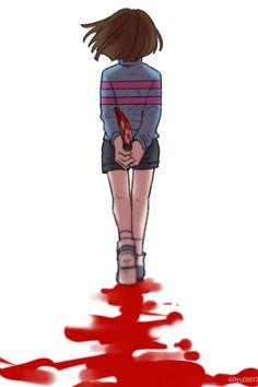 Genocide! Frisk | Artist RyuO
