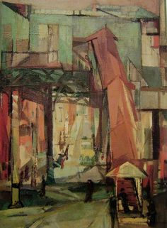 Franz Kline, Chatham Square  on ArtStack #franz-kline #art