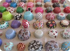 My collection of cupcake paper cups #collection #cupcake #paper