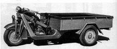 Mazda Type LB Three wheel track