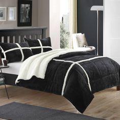 Chloe Sherpa Comforter Set