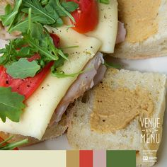 TUSCAN SANDWICH - Hand-carved roasted ham, with provolone cheese, sliced Roma tomatoes, topped with fresh field greens, a touch of specialty mustard, and served on an Italian Ciabatta roll. We love simple weekend lunches that satisfy your taste buds on the very first bite.