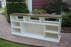 DIY Media Console | Do It Yourself Home Projects from Ana White