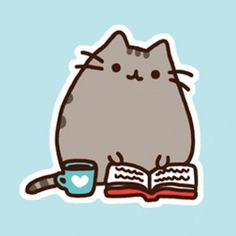Pusheen and like OMG! get some yourself some pawtastic adorable cat apparel! Gato Pusheen, Pusheen Love, Crazy Cat Lady, Crazy Cats, Chat Messenger, 4 Panel Life, Simons Cat, Gif Animé, Cat Art
