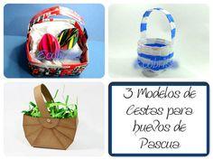 3 técnicas de hacer cestas para huevos de Pascua