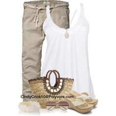 Natural Summer Outfit :)