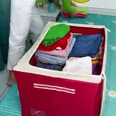 Storage Boxes, Storage Spaces, Storage Chest, Baby Dolls For Sale, Mess Up, E Design, Steel Frame, Getting Organized, Bed Sheets