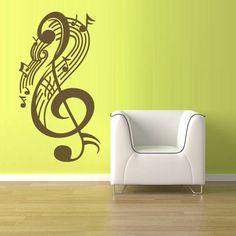 Wall Vinyl Sticker Decals Decor Music Note by StickersForLife, $28.99