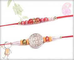 send family rakhi online - 2 Rakhi Set- #Rakhi2015. 2 Rakhi Set 06, surprise your loved ones with roli chawal, chocolates and a greeting card as it is also a part of our package and that too without any extra charges.  http://www.bablarakhi.com/