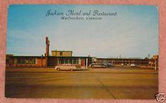 Jackson Motel & Restaurant, Murfreesboro, Tennessee